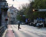 شاهدوا: دب يتجول في شوارع مدينة ماغادان الروسية ويرعب سكانها