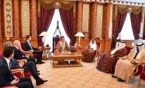 تفاصيل لقاء كوشنير بالعاهل البحريني في قصر القضيبية