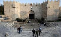 الاحتلال يعتدي على مقدسيين في باب العامود
