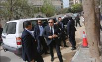 الوفد المصري يُغادر غزّة عبر