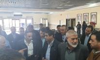 بالصور: الوفد الأمني المصري يتفقد آلية العمل في معبر رفح