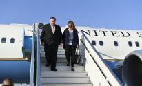 سببب زيارة وزير الخارجية الأمريكي لفلسطين المحتلة