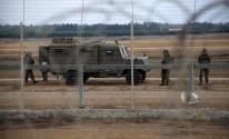 الاحتلال يعتقل شاباً تسلل من حدود قطاع غزّة الشمالية