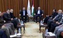 بالصور: تفاصيل اجتماع قيادتي حماس والجهاد الإسلامي بشأن الأوضاع الراهنة بغزّة