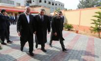 الوفد الأمني المصري يُغادر غزّة عقب لقاء هنية