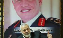هنية يزور المستشفى الأردني بغزة برفقة وفد قيادي من حماس