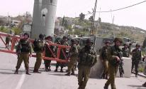 حاجز عسكري تابع للاحتلال الإسرائيلي