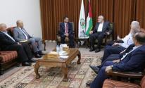 مصدر يكشف تفاصيل اجتماع هنية مع ملادينوف في غزّة اليوم