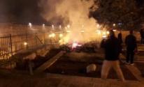 فرق الإطفاء تسيطر على حريق اندلع أمس في كاتدرائية نوتردام