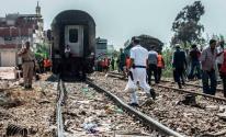 إصابات جراء انحراف قطار عن مساره في