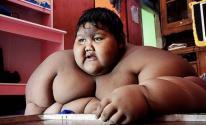 بالصور: أسمن طفل في العالم يفقد 106 كيلو من وزنه في شهر!
