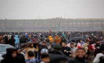 إصابات بقمع الاحتلال لمسيرات إحياء ذكرى النكبة شرق قطاع غزة