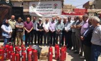 دائرة شؤون اللاجئين تدعم الدفاع المدني في مخيم الجليل