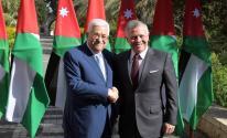 عباس وعاهل الأردن