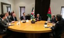 العاهل الأردني يرفض حضور مؤتمر البحرين ويضع لـ