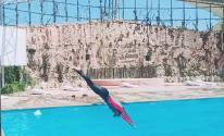 بالصور: السباحة السورية سوار الشيخ سعيد