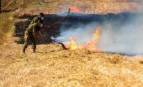 حريق غلاف