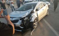 إصابة سيدة وطفلة جراء حادث سير جنوب قطاع غزّة