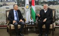 بدء اجتماع حركة حماس مع ملادينوف في غزّة