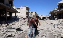 قتلى وجرحى إثر غارات على معرة النعمان بسوريا