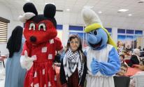 بالصور: الأيادي البيضاء تُقيم حفلاً ترفيهياً لأطفال غزّة