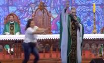 شاهدوا: راهب يزعم أن