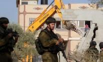 الاحتلال يسلم إخطارات لهدم أربعة مساكن شرق يطا