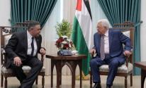 عباس والوفد المصري
