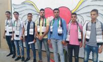 الشبيبة الفتحاوية تستقبل الطلبة في مختلف مدارس قطاع غزة