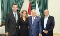 عباس وحفيدة رابين