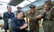 زعيم كوريا الشمالية يشرف على اختبار