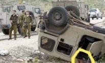 إصابة 4 جنود إسرائيليين
