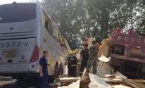 مصرع 36 شخصًا وإصابة 36 آخرين إثر حادث سير في الصين