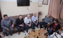 بالصور: تفاصيل لقاء هنية مع قيادة الجيهة الشعبية بغزة