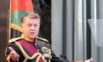 ملك الأردن يُجدّد التأكيد على ثبات موقف بلاده من القضية الفلسطينية