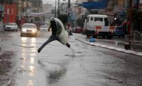 بالصور: الزراعة تكشف نسبة الأمطار التي هطلت على غزّة خلال الساعات الماضية