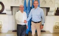 السفير العمادي يلتقي ملادينوف ويبحثا الأوضاع الإنسانية بغزّة