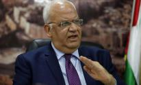 عريقات: رفض إجراء الانتخابات من أي جهة يُبيّن أنّها تعمل لحسابات إقليمية