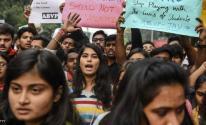 الهند: احتجاجات  بسبب