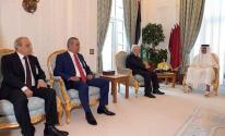 عباس وامير قطر