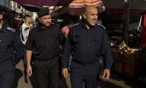 شرطة البلدية تشارك في مهمة تأمين الجبهة الداخلية بغزة