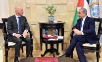 اشتية يستقبل السفير السويسري لمناسبة انتهاء مهامه الرسمية