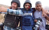 اصابة صحفي