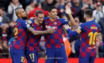 برشلونة يكتسح ألافيس برباعية مقابل هدف