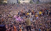 بالفيديو: فنان مصري يثير الغضب خلال