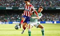 أتلتكو مدريد يتغلب على ريال بتيس بصعوبة كبيرة