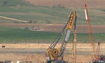 الجدار الأمني بغزة