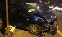 مصرع سيدة وإصابة طفل بحادث سير مروع في شارع الجلاء وسط غزّة