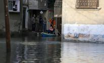 الديمقراطية تُحمل الحكم المحلي بغزّة مسؤولية غرق ممتلكات المواطنين بفعل المنخفض الجوي