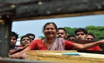 الهند: أمراة تعود إلى